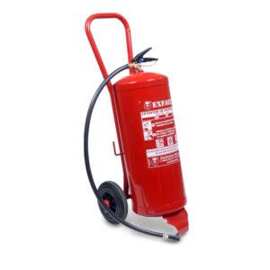 Extintores con carro