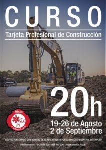 Curso Tarjeta Profesional de Construcción